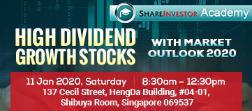 High Dividend Growth Stocks with Market Outlook 2020