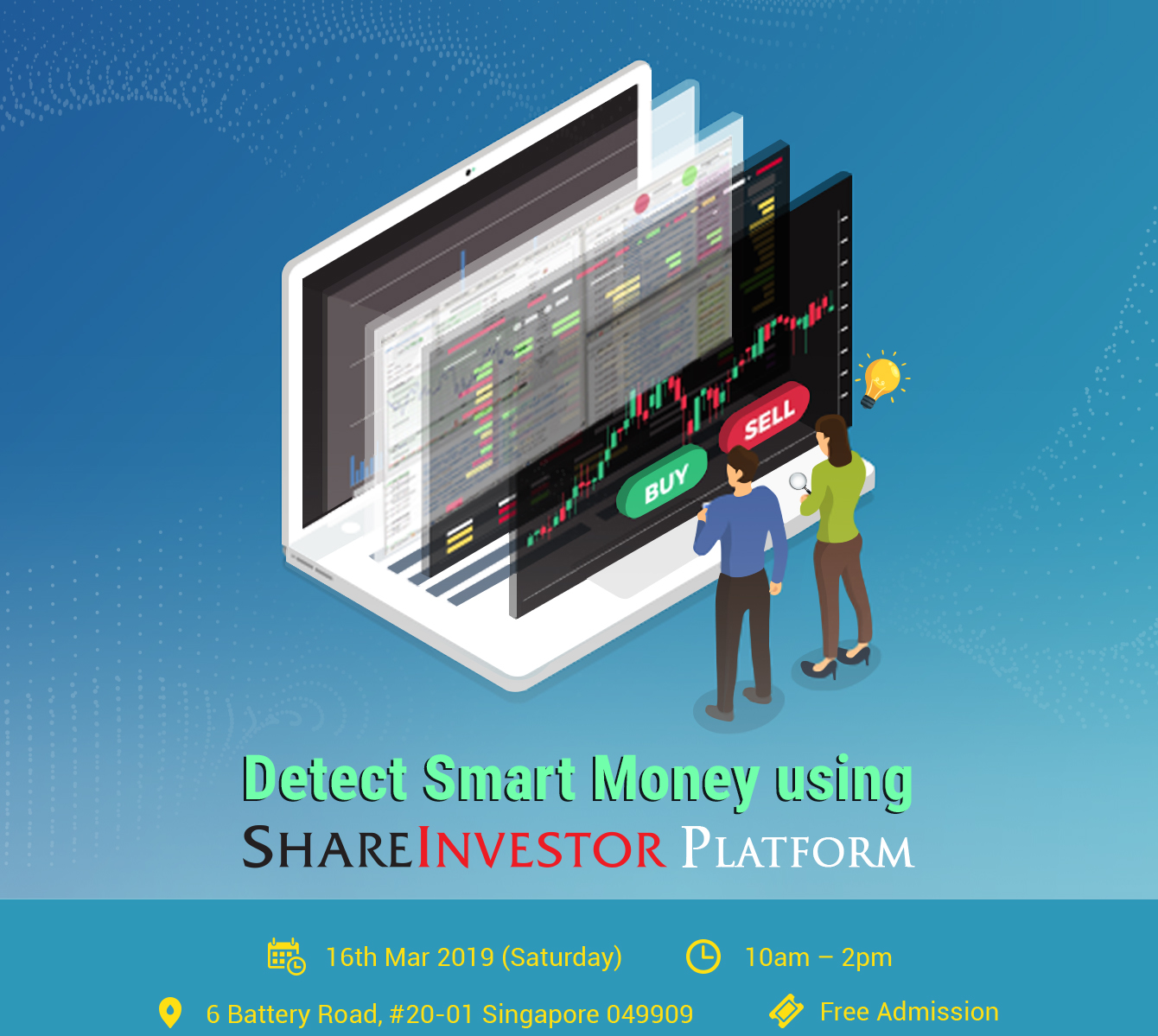Detect Smart Money using ShareInvestor Platform