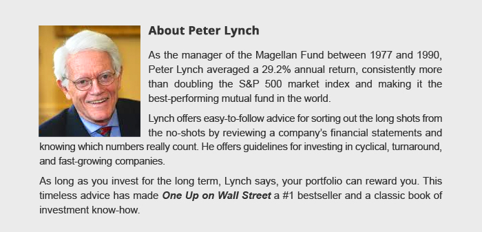 About Peter Lynch