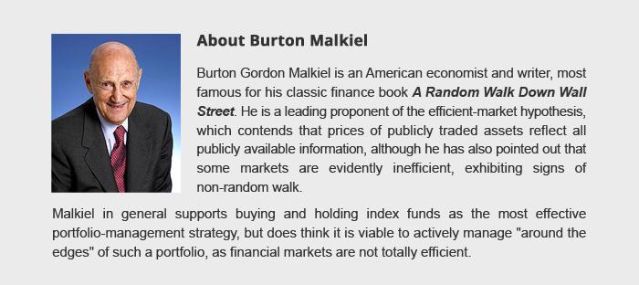 Aboout Burton Malkiel