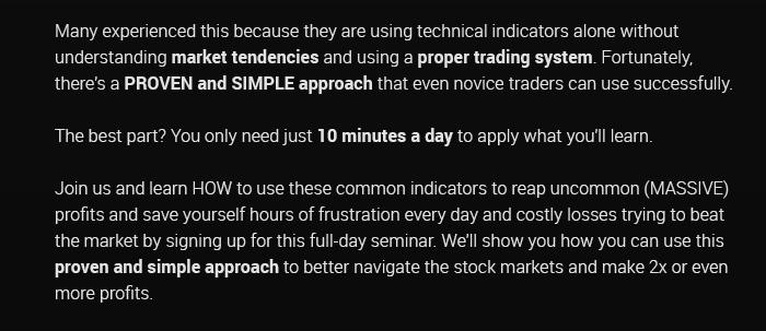 Unlocking the Secret of Indicators